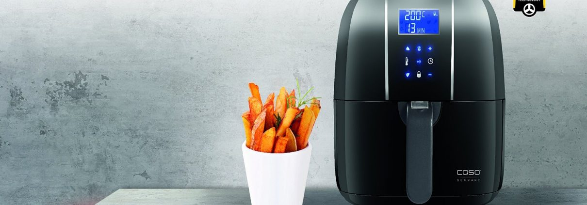 Air Fryer, vagyis olaj nélküli, légkeveréses sütő