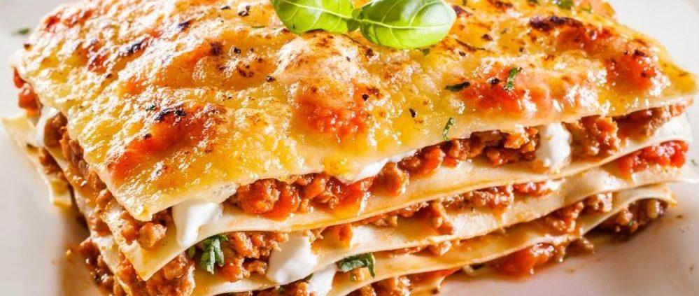 Caso mikróban sült Olasz lasagne