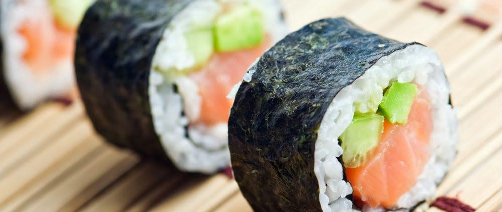 Keleti konyha és a sushi készítő