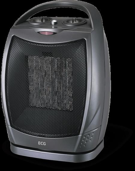 ECG KT 10 kerámia hősugárzó (fekete)