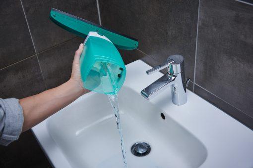 Leifheit Dry&Clean Elektromos ablaklehúzó cserélhető fejjel